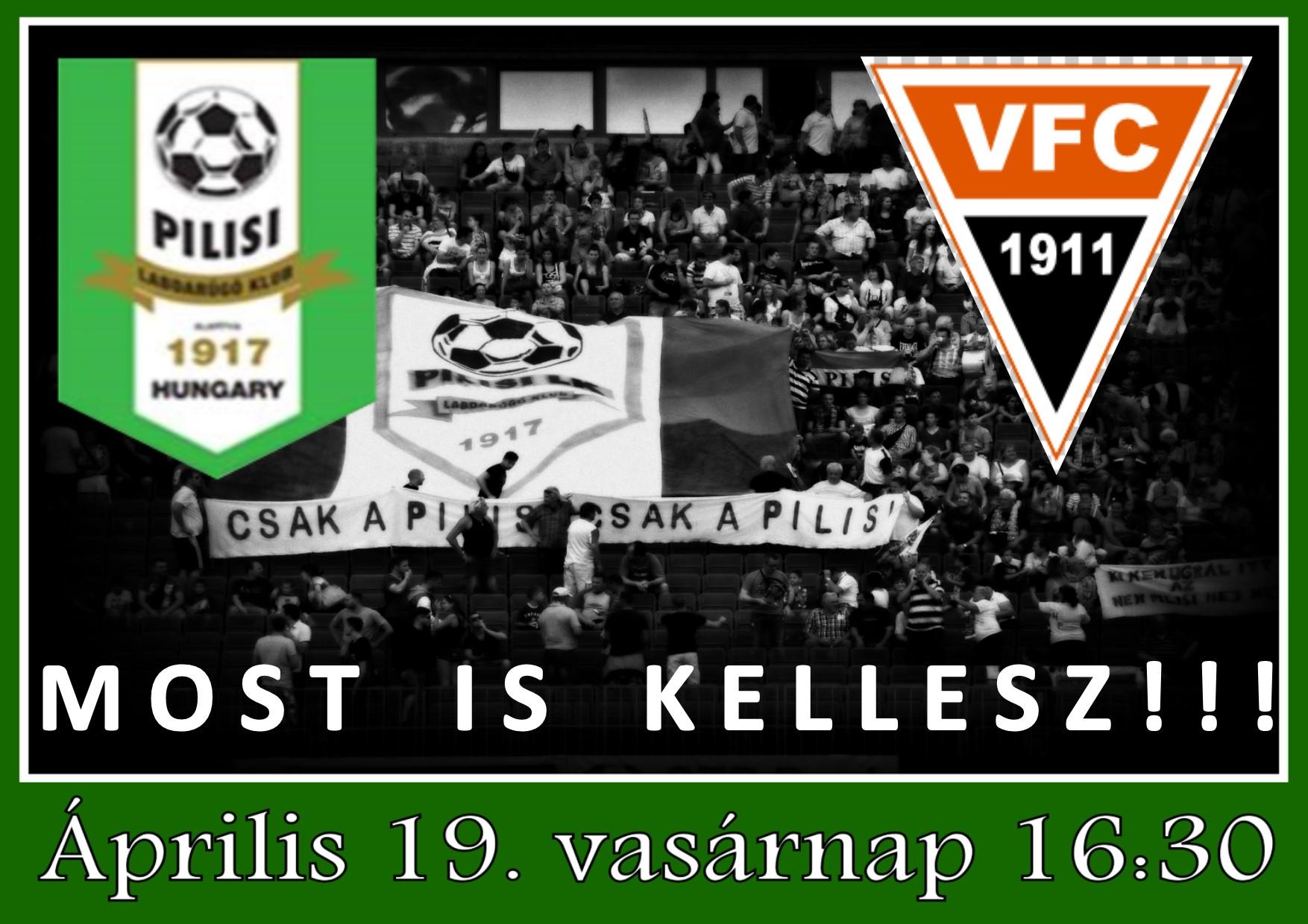 Pilisi LK-Vecsés plakát